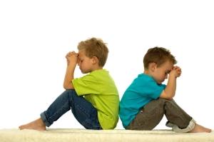Two friends pray